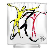 Embracing Freedom Shower Curtain