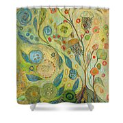 Embracing The Journey Shower Curtain