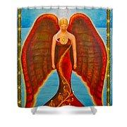 Emeliah Angel Of Inner Journeys Shower Curtain