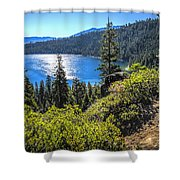 Emerald Bay Lake Tahoe California Shower Curtain