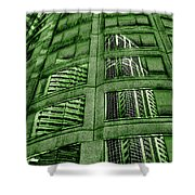Emerald City Reflections - Seattle Washington Shower Curtain