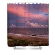 Emerald Isle Sunset Shower Curtain