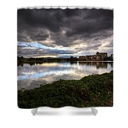 Emerald Lakes Shower Curtain