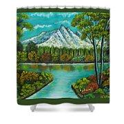 Emerald Valley Shower Curtain
