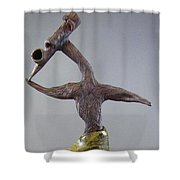 Emerge And Run Shower Curtain