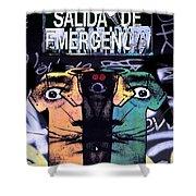 Emergency Dali Shower Curtain