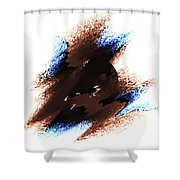 Emergent Circle Shower Curtain