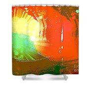 Emergent Sun Shower Curtain