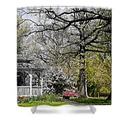 Emerging Of Spring Shower Curtain