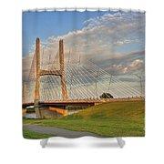 Emerson Bridge Shower Curtain
