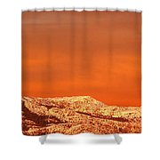 Emigrant Gap Shower Curtain by Bill Gallagher