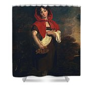 Emily Anderson Little Red Riding Hood Shower Curtain