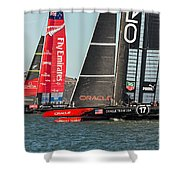 Emirates And Oracle Shower Curtain