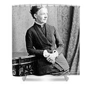Emma Wedgwood Darwin (1808-1896) Shower Curtain