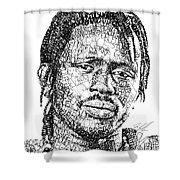 Emmanuel Jal Shower Curtain