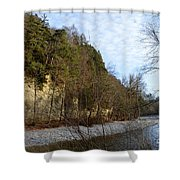 Emme's Valley  Shower Curtain