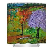 Emmet's Garden Shower Curtain