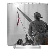 Emmitsburg 9 - 11 Memorial Shower Curtain
