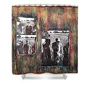 Emotional Breakdown By Alfredo Garcia Shower Curtain