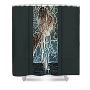 Emotionally Fragile Shower Curtain