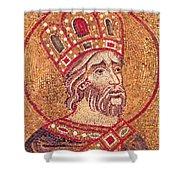 Emperor Constantine I Shower Curtain