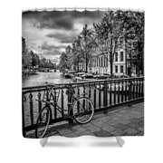 Emperor's Canal Amsterdam Shower Curtain