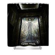 Empire Art Deco Shower Curtain