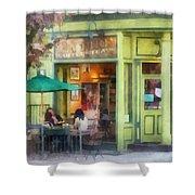 Hoboken Nj - Empire Coffee And Tea Shower Curtain