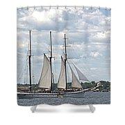 Empire Sandy Shower Curtain