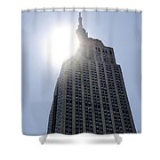 Empire State At Hign Noon Shower Curtain