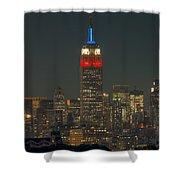 Empire State Building 911 Tribute Shower Curtain