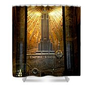 Empire State Building - Magnificent Lobby Shower Curtain
