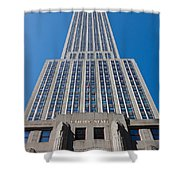 Empire State Building Rising I Shower Curtain