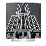 Empire State Building Rising II Shower Curtain