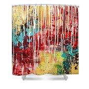 Empowering Emotion Shower Curtain