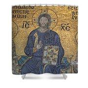 Empress Zoe Mosaic - Hagia Sophia Shower Curtain