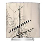 Empty Sails Shower Curtain