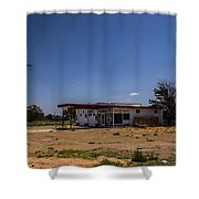 Empty Sign Shower Curtain