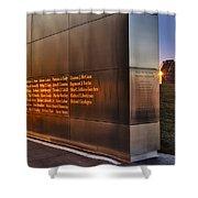 Empty Sky Nj 911 Memorial  Shower Curtain