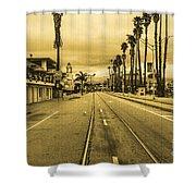 Beach Street Shower Curtain