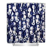Empyreal Souls No. 11 Shower Curtain