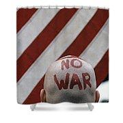 War Protest Shower Curtain