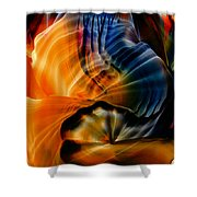 Encaustic 1381 Shower Curtain