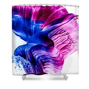 Encaustic 1836 Shower Curtain