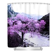 Enchanted Pink Shower Curtain