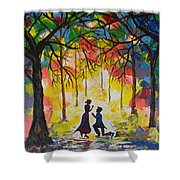 Enchanted Proposal Shower Curtain