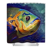 Enchanted Reef Shower Curtain
