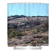 Enchanted Rock Park Shower Curtain