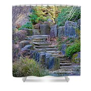 Enchanted Stairway Shower Curtain