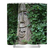 Enchanted Tree In The Forest Shower Curtain